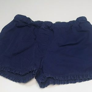 Boden 16Y girls navey ruffled shorts